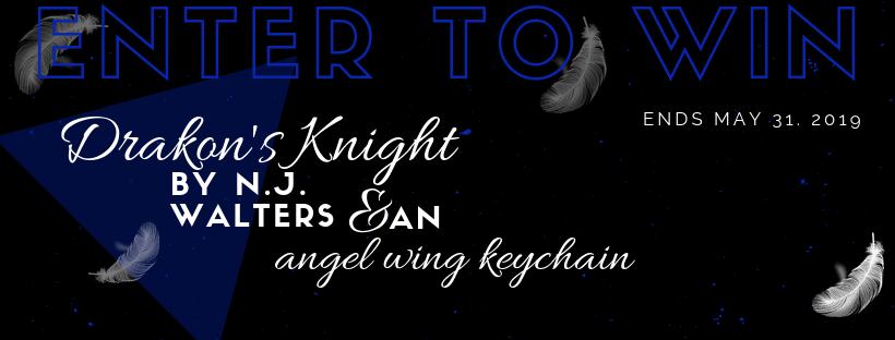 giveaway - drakon's knight - nj walters - paranormal romance books - best romance books - rc alvarez